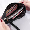 Women Wristlet Zip Wallet