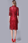 Rosaline Embroidered Dress