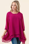 Alice Bubble Sleeve Blouse