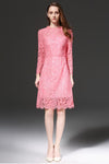 Pink Dreams Lace Dress