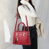 Women's Leather Crossbody Bag - Handbag