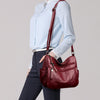 Women's Leather Crossbody Shoulder Bag