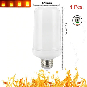Flame Effect LED Light Bulb with 4 Flickering Mode
