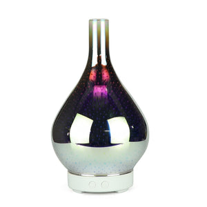 3D Glass Essential Aroma Oil Diffuser/Humidifier -7 Led Color Mode
