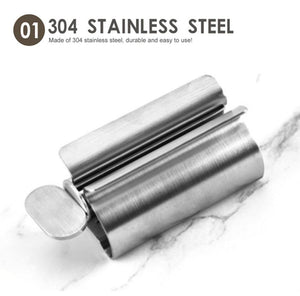 Stainless Steel Toothpaste Squeezer
