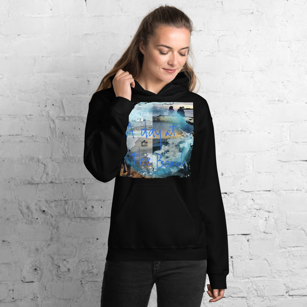 A DAY AT THE BEACH - Unisex Hoodie