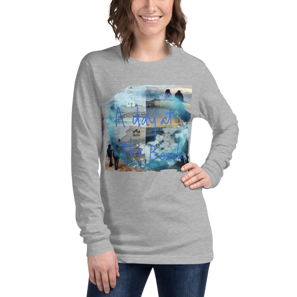 A DAY AT THE BEACH - Unisex Long Sleeve Tee
