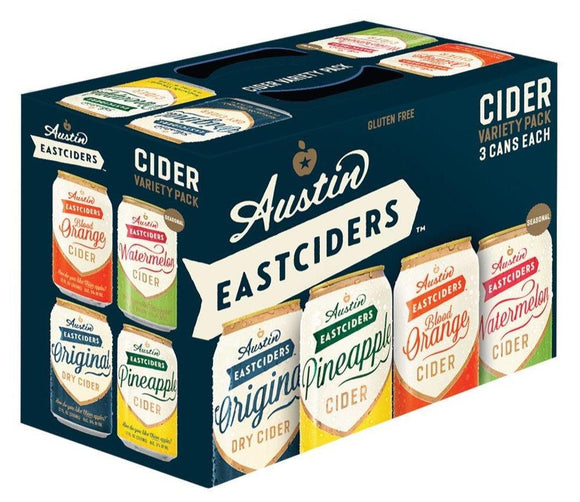 Austin East Cider Variety Pack 12oz. Can - Greenwich Village Farm