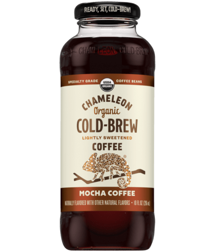 Chameleon Organic Cold Brew Mocha Coffee- 10oz. - Greenwich Village Farm