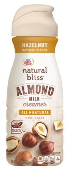Coffeemate Natural Bliss Almond Milk Hazelnut 16oz. - Greenwich Village Farm