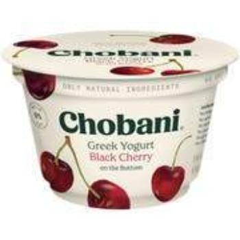 Chobani Greek Yogurt 0% Black Cherry 5.3oz - Greenwich Village Farm