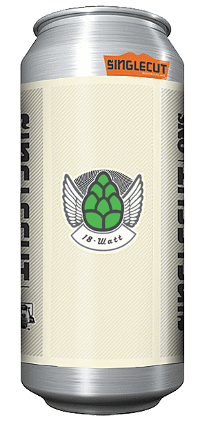 Single Cut 18 Watts IPA 16oz. Can
