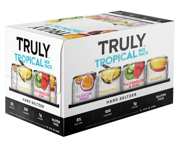 Truly Hard Seltzer Tropical Mix Variety Pack 12oz. Can - Greenwich Village Farm