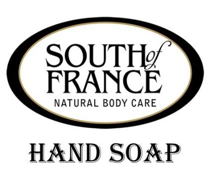 South of France Hand Soap 8oz. - Greenwich Village Farm