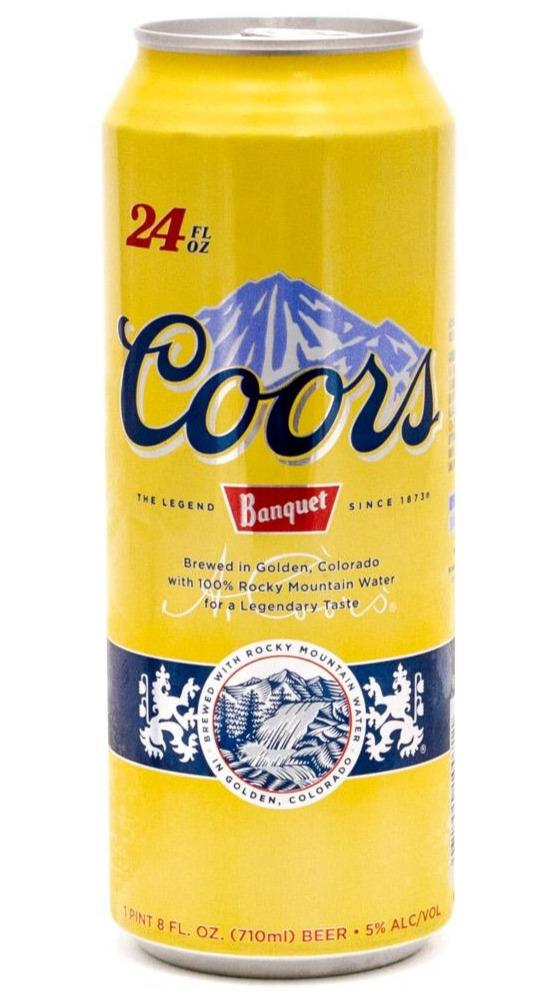 Coors Banquet  24oz. Can - Greenwich Village Farm