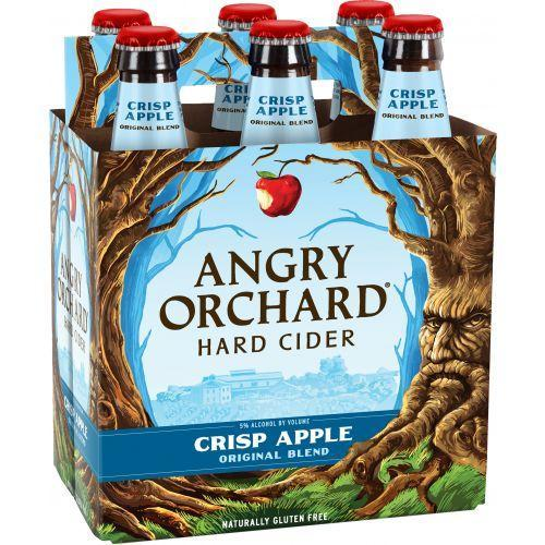 Angry Orchard Crisp Apple Cider 12oz. Bottle - Greenwich Village Farm