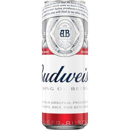 Budweiser 24oz. Can - Greenwich Village Farm