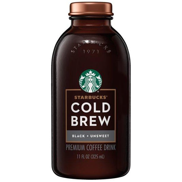 Starbucks Cold Brew Black Unsweetened 11oz. - Greenwich Village Farm
