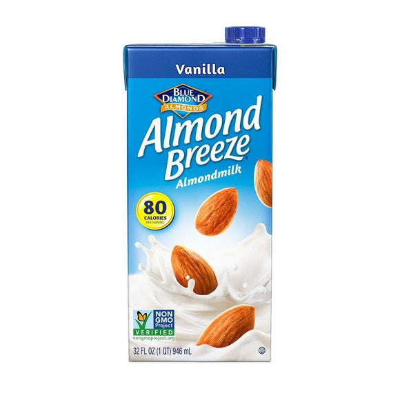 Almond Breeze Almond  Milk  Vanilla - 32oz. - Greenwich Village Farm