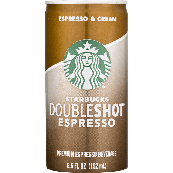 Starbucks Double Shot Espresso - 6.5oz.Can - Greenwich Village Farm