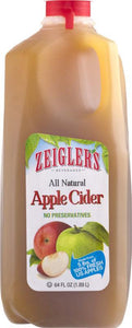 Zeigler's Apple Cider  64oz.