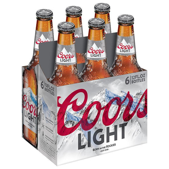 Coors Light 12oz. Bottle - Greenwich Village Farm