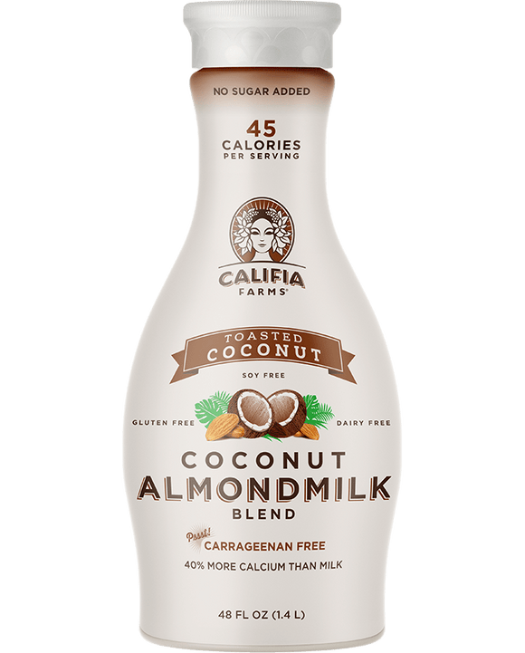 Califia Almond  Milk Toasted Coconut- 48oz. - Greenwich Village Farm