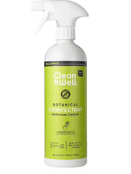 Clean Well Disinfectant Bathroom Cleaner Citrus 24oz.