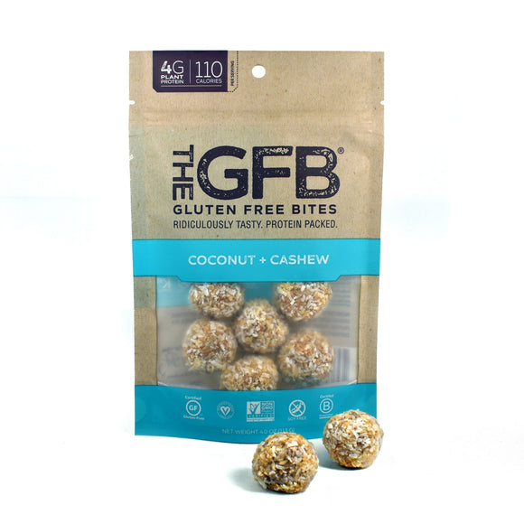 Gluten Free Bites Coconut Cashew Crunch 4oz. - Greenwich Village Farm