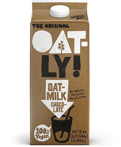 Oatly Oat Milk Chocolate - 64oz. - Greenwich Village Farm