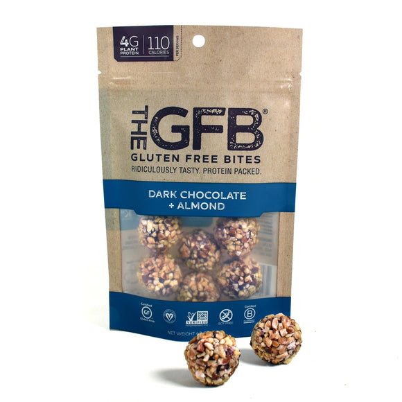 Gluten Free Bites Dark Chocolate Almond 4oz. - Greenwich Village Farm
