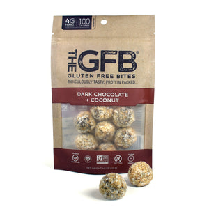 Gluten Free Bites Dark Chocolate Coconut 4oz. - Greenwich Village Farm