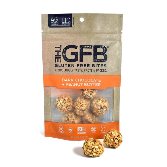 Gluten Free Bites Dark Chocolate Peanut Butter 4oz. - Greenwich Village Farm