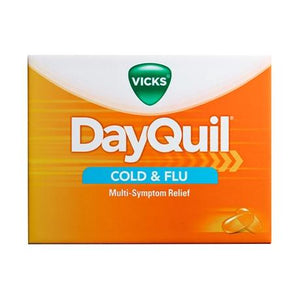 Dayquil LiquiCaps Cold & Flu 16 Count - Greenwich Village Farm