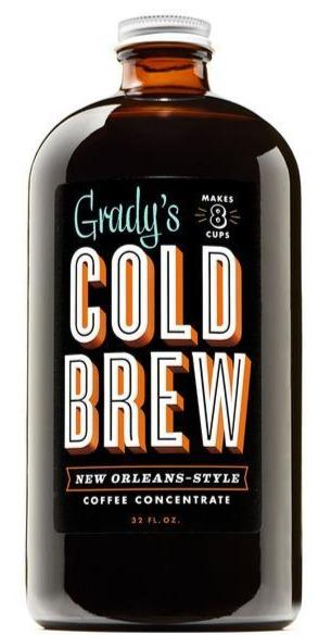 Grady's Cold Brew Coffee 32oz. - Greenwich Village Farm