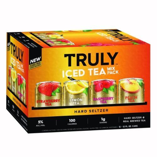 Truly Hard Seltzer Iced Tea Variety 12oz. Can Pack - East Side Grocery