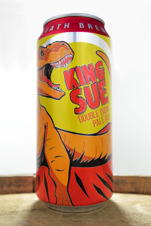 Toppling Goliath King Sue Double IPA 16oz. Can 4 Pack