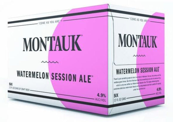 Montauk Watermelon Ale - 12oz. Can - Greenwich Village Farm