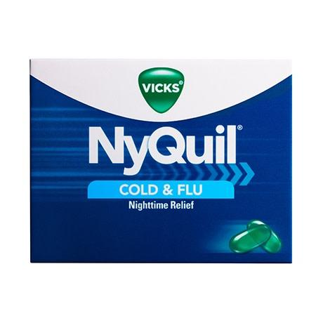Nyquil LiquiCaps Cold & Flu 16 Count - Greenwich Village Farm