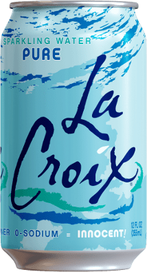 LaCroix Sparkling Water Pure 12oz. Can - Greenwich Village Farm