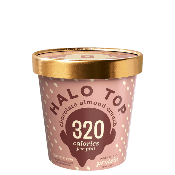 Halo Top Ice Cream Chocolate Almond Crunch 16oz. - Greenwich Village Farm