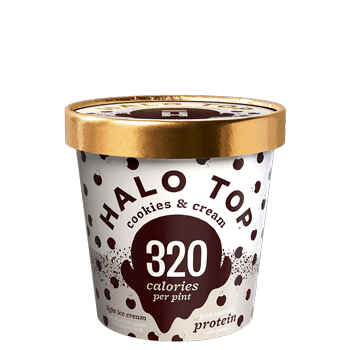 Halo Top Ice Cream Cookies & Cream 16oz. - Greenwich Village Farm