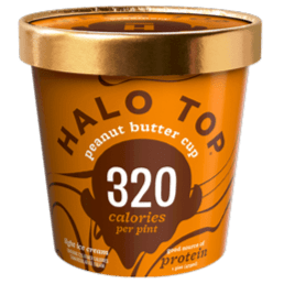 Halo Top Ice Cream Peanut Butter Cup 16oz. - Greenwich Village Farm