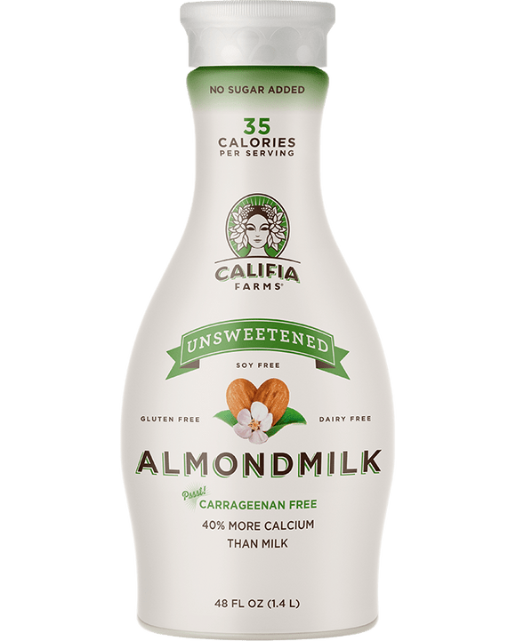 Califia Almond  Milk Original Unsweetened - 48oz. - Greenwich Village Farm