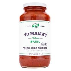 Yo Mama's Tomatoes Sauce 25oz. - Greenwich Village Farm