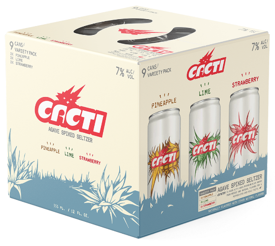 Cacti Hard Seltzer 12oz. Can