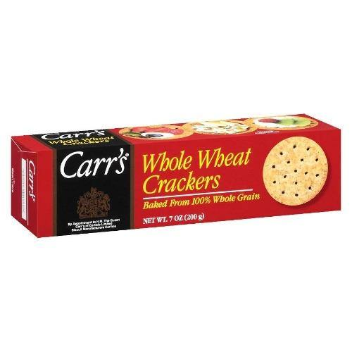 Carr's Whole Wheat Crackers 4.25oz.