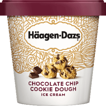 Haagen Dazs Ice Cream Chocolate Chip Cookie Dough 14oz. - Greenwich Village Farm