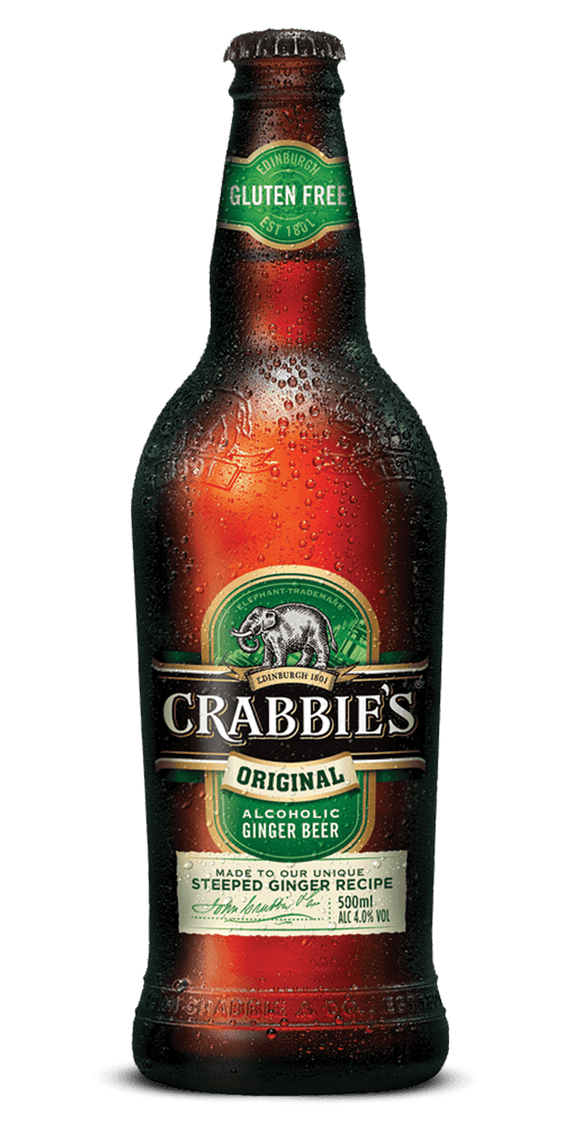 Crabbies Alcoholic Ginger Beer 16.9oz. Bottle - Greenwich Village Farm