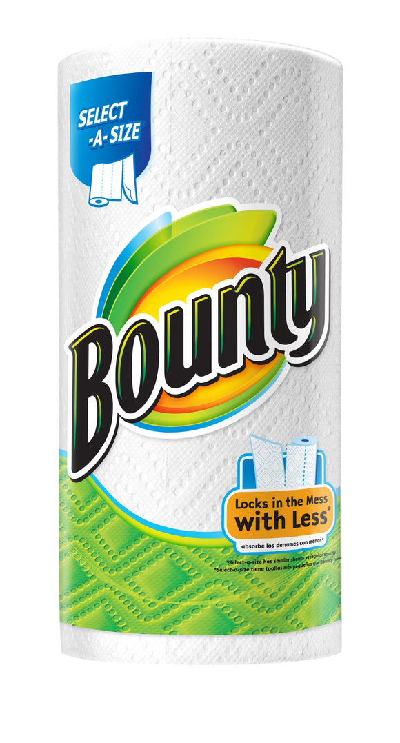Bounty Paper Towels Select-A-Size 74- 2-Ply Sheets - Greenwich Village Farm